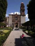 Facade of a Church  Church of San Francisco  San Miguel De Allende  Guanajuato  Mexico
