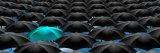 Infinite Umbrellas with a Blue One