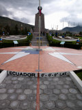 Middle of the World Monument  Mitad Del Mundo  Quito  Ecuador