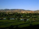Park in a City  Ann Morrison Park  Boise  Ada County  Idaho  USA