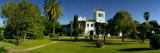 Garden in Front of Hotel  Hotel Cortijo El Esparragal  Gerena  Seville  Andalusia  Spain