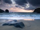 Sunset on Dalbeg Beach  Isle of Lewis  Hebrides  Scotland  UK