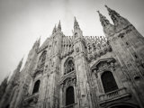 Lombardy  Milan  Piazza Duomo  Duomo Cathedral  Defocussed  Italy
