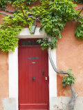 Traditional Architecture in Roussillon  Provence  France
