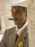 Havana  Cuban Man  Plaza De La Catedral  Havana  Cuba