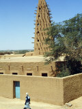 Mosque in Agadez  Niger