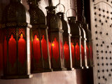 Marrakech  the Entrance to Café Arabe Built in a Refurbished Moroccan House  Morocco