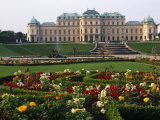 Vienna  the Belvedere Is a Baroque Palace Complex Built by Prince Eugene of Savoy  Austria