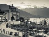 Piedmont  Lake Maggiore  Cannobio  Piazza Vittorio Emanuele Iii  Italy