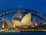 Sydney  Opera House at Dusk  Australia