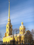 Peter and Paul Cathedral  Saint Petersburg  Russia