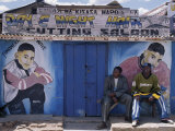 Barber&#39;s Shop in a Small Trading Centre Near Iringa in Southern Tanzania