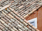 Roofs of Roussillon  Provence  France