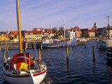 Harbour and Town of Faaborg  Denmark