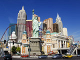 Nevada  Las Vegas  Statue of Liberty and New York New York City Skyline Reproduction  USA