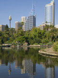 New South Wales  Sydney  the Green Surrounds of the Royal Botanic Gardens  Australia
