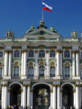 St Petersburg  Main Entrance to the Saint Hermitage Museum or Winter Palace  Russia