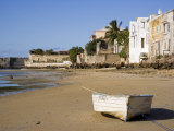 Boat on the Beach of Ilha Do Mozambique  the Old Capital of Portuguese East Africa