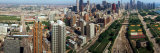 360 Degree View of a City  Chicago  Cook County  Illinois  USA