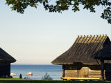 Traditional Thatched Roof Farm House  Located in Rocca Al Mar at the National Open Air Museum
