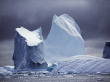 Grandidier Channel  Pleneau Island  Grounded Iceberg  Antarctica