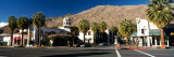 Buildings at the Roadside  Palm Springs  Riverside County  California  USA