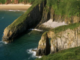 Pembrokeshire  Skrinkle Haven on the South Coast of Pembrokeshire  Wales