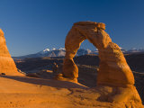 Utah  Arches National Park  Delicate Arch  USA
