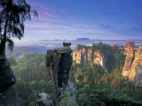 Bastei Rocks  Swiss Saxony  Germany