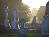 Clonmacnoise Monastery  Co Offlay  the Midlands  Ireland