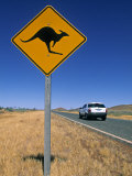 Road Sign  Western Australia  Australia