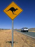 Road Sign  Western Australia  Australia