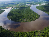 Amazon  Amazon River  Bends in the Nanay River  a Tributary of the Amazon River  Peru