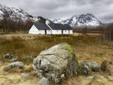 Black Rock Cottage  Glencoe  Scotland  UK