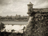 Castillo De Los Tres Reys Del Morro  Commonly known as El Morro  across Bay from Havana City  Cuba