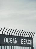 California  San Diego  Ocean Beach and Fishing Pier  USA
