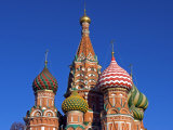Moscow  Red Square  St Basil's Cathedral  Russia