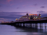Brighton Pier Offers Entertainment for Visitors  England