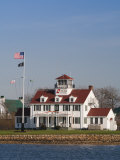 New York  Long Island  Montauk  Us Coast Guard Station  USA