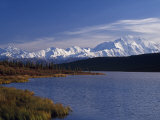 Mount Mckinley  2032Ft  from Reflection Lake  Denali National Park