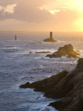 La Vieille Lighthouse  Pointe Du Raz  Cape Sizun  Finistere Region  Brittany  France