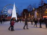 Christmas Market  Brussels  Belgium