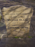 William Blake Gravestone  London  England  UK
