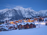 Courchevel 1850 Ski Resort in the Three Valleys  Les Trois Vallees  Savoie  French Alps  France