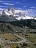 Mount Fitzroy  Patagonia  Argentina