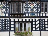 Warwickshire  Warwick  Lord Leycester Hospital  Courtyard  Timber Framed Building  England