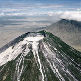 Ol Doinyo Lengai  the Maasai's Mountain of God  the Only Active Volcano in Gregory Rift  Tanzania