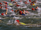 Swindon  Participants in a Triathalon Competition  Swindon  England  England