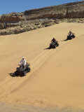 Tourists Set Out on Quad Bikes to Explore Magnificent Desert Scenery of Hartmann&#39;s Valley  Nambia