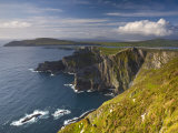 Coastal Cliffs Near Valentia Island  Co Kerry  Ireland